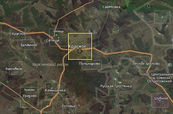 село Красное – КЛАДР Krasnoye Ukolovskoye